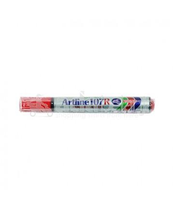 Artline Spidol 107R Permanent Marker Merah