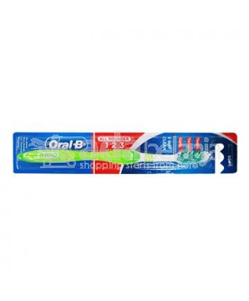 Oral-B Sikat Gigi All Rounder 123 Clean Soft Hijau