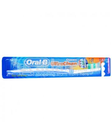 Oral-B Sikat Gigi Ultra Clean Classic Soft Biru