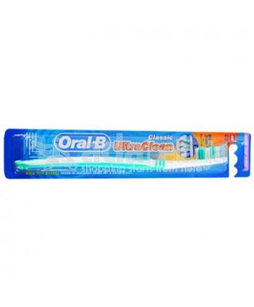 Oral-B Sikat Gigi Ultra Clean Classic Soft Hijau