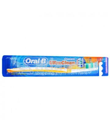 Oral-B Sikat Gigi Ultra Clean Classic Soft Orange