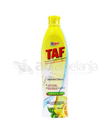 Yuri TAF Anti-bacterial Lemon & Lime Botol 500mL