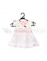 Nini Set Dress + Dalaman + Topi Hello Kitty Pink