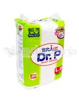 Dr. P Popok Dewasa Basic Type Size L isi 8