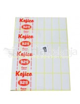 Kojico Self Adhesive Label 108 18x38 mm isi 7 lbr