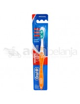 Oral-B Sikat Gigi All Rounder 123 Clean Medium Orange