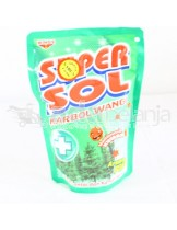 Super Sol Karbol Wangi Pine Pouch 450mL