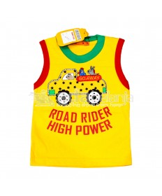 Hardi Kids Baju Sleeveless Kuning