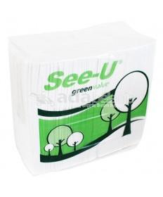 See-U Facial Tissue Green Value 630g