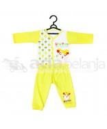 Nini Set Piyama + Celana Hamtaro (Panjang) Kuning