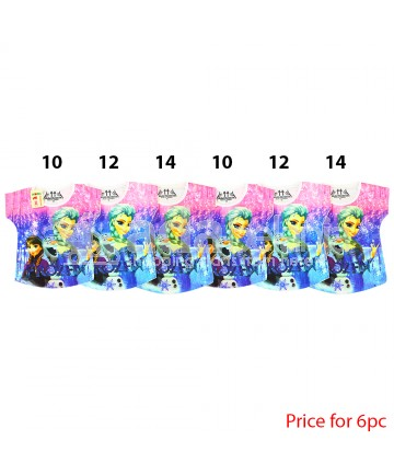 Model Childhood Baju Frozen Biru 6pc