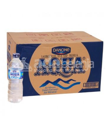 Aqua Botol Dus 600mL x 24