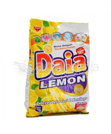 Daia Deterjen Lemon Pouch 900g