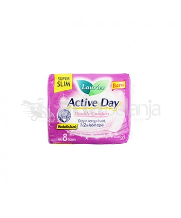 Laurier Active Day Super Slim isi 8