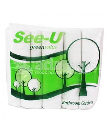 See-U Bathroom Coreless Tissue Roll isi 10