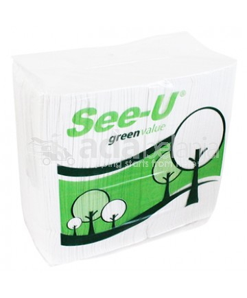 See-U Facial Tissue Green Value 630g