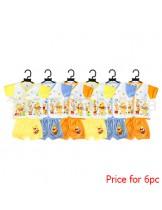 Nini Set Baju + Celana Winnie the Pooh 6pc