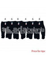 Nini Fashion Legging Hitam 6pc