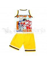 Set Baju Sleeveless + Celana Ultraman Ukuran No. 16