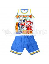 Set Baju Sleeveless + Celana Ultraman Ukuran No. 20