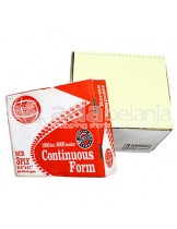 "Sinar Dunia Continuous Form Red A4 (9,5"" x 11"") 3 Rangkap 1000set x 3000"