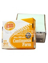 "Sinar Dunia Continuous Form Orange A4 (9,5"" x 11"") 4 Rangkap 500set x 2000"