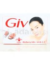 GIV Mulberry Slik Sabun Batangan 80g