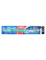 Oral-B Sikat Gigi All Rounder 123 Clean Soft Cyan