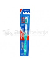 Oral-B Sikat Gigi All Rounder 123 Clean Medium Cyan