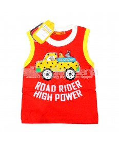 Hardi Kids Baju Sleeveless Merah