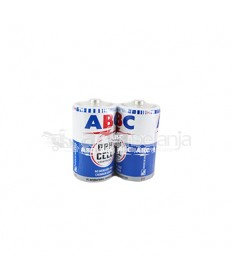 ABC Baterai Dry Cell C isi 2
