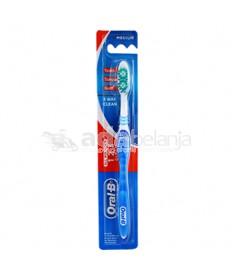 Oral-B Sikat Gigi All Rounder 123 Clean Medium Biru
