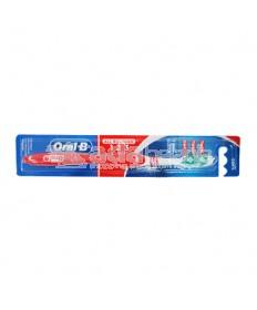 Oral-B Sikat Gigi All Rounder 123 Clean Soft Merah