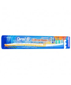 Oral-B Sikat Gigi Ultra Clean Classic Soft Orange