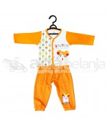 Nini Set Piyama + Celana Hamtaro (Panjang) Orange