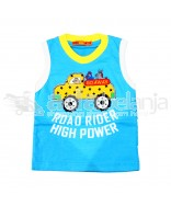 Hardi Kids Baju Sleeveless Biru
