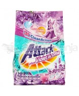 ATTACK DETERGENT 3D PLUS VIOLET AROMA POUCH 800g